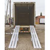 05-20-240 Aluminum Modular Truck Trailer Ramp System for Dry Van - 5000 lb per axle Capacity 2