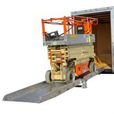 05-34-192-01-06-M-18-P-TS6 16 x 38 Plate-End Scissor Lift Ramp