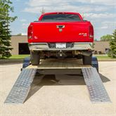 05-TTRAMP-FLAT-PP EZ Traction Aluminum Plate End Car Trailer Ramps - 5000 lb per axle Capacity 6