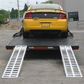 05-TTRAMP-HOOK Aluminum Hook End Car Trailer Ramps - 5000 lb per axle Capacity 3