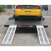 05-TTRAMP-PIN Aluminum Pin-On End Car Trailer Ramps - 5000 lb per axle Capacity 1
