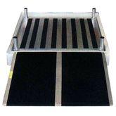 1-SHWPLT PVI Custom Wheelchair Shower Platform
