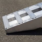 10-14-090-05-S 7 6 L x 14 W x 4-14 H Aluminum Ramps with Hook Ends - 10000 lb per axle Capacity 4