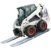 10-16-120-02-S 10 x 16 Pin-On End Heavy Equipment Ramps - 10000-lb per axle Capacity