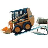 10-16-120-05-S 10 L x 16 W Hook End Heavy Equipment Ramps - 10000-lb per axle Capacity