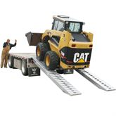 12-16-144-02-S 12 x 16 Pin-On End Heavy Equipment Ramps - 12000-lb per axle Capacity