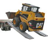 12-16-144-05-S 12 x 16 Hook-End Heavy Equipment Ramps - 12000-lb per axle Capacity