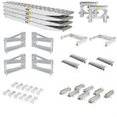 23-20-192-02-02-MLL-4-KIT 8 L x 20 W 4 Bunk Load Leveler  4 Ramp Master Kit for 20 H Step Deck Trailers  23500 lb Capacity