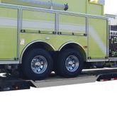 40-25-120-06-06-GRIT RGN Trailer Aluminum Spanner Ramp - 10 L x 25 W - 40000 lb Max Axle