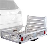 ACC500-DLX Apex Aluminum Basket Deluxe Cargo Carrier with Ramp
