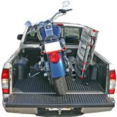 AF-9034-HD 75 L Aluminum Folding Arched Motorcycle Ramp - 1500 lb Capacity 3