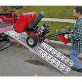AFP-9012-2 7 5 L Plate-Style Aluminum Folding Arched Dual Runner ATV Ramps 2