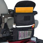 B2125 Large Saddle Bag for Scooter or Powerchair Armrest - 12L x 9W x 3D