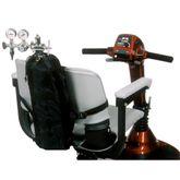 B6-21 Wheelchair Small Oxygen Tank Holder