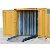 BLUFF-CONTAINER-RAMPS-15K Bluff Steel Shipping Container Ramps - 15000 lb Capacity