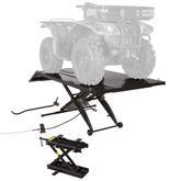 BW-1000A-XW-ATV Black Widow Extra Wide Pneumatic ATV Lift Table - 1000 lbs Capacity