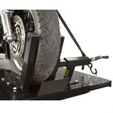 BW-1000A Black Widow Pneumatic Motorcycle Lift Table - 1000 lb Capacity 2