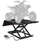 BW-1500AO-V2 Black Widow AirHydraulic ATV Lift Table - 1500 lbs Capacity