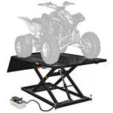 BW-1500AO-V2 Black Widow AirHydraulic ATV Lift Table - 1500 lbs Capacity
