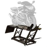BW-680 Black Widow Hydraulic Motorcycle Lift Table - 1000 lb Capacity