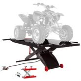 BW-PROLIFT-HDXW-ATV Black Widow ProLift AirHydraulic ATV Lift Table - 1500 lbs Capacity