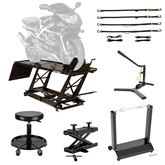 BW-SK-E Black Widow Essential Motorcycle Shop Kit