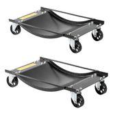 BW-WD Black Widow Steel Car ATV UTV Wheel Dollies - 1000 lbs Capacity