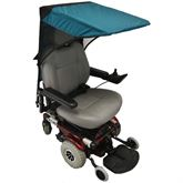 C123 Pediatric Power Wheelchair Canopy
