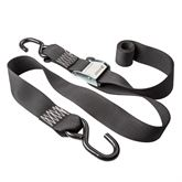 CAMSTRAP2 2 x 6 Cam Buckle Strap Tie-Downs with S-Hooks