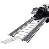 CBR-13526-EXT Ramp and Extension - Caliber PRO Tri-Fold Snowmobile and ATV Ramp - 7 6 Long x 52 Wide