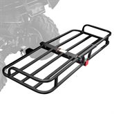 CC-1948 Black Widow Steel ATV Hitch Cargo Basket - 150 lbs Capacity