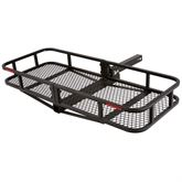 CCB-F4820-DLX 48 Long Elevate Outdoor Steel Basket Folding Cargo Carrier