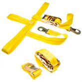 CTS-RAT-SNAP-2 2-Pack of Car Wheel Tie Down Straps