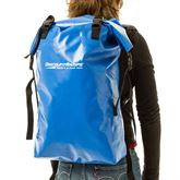 Carrying the dry bag backpack