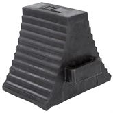 DH-WC-2 Guardian Double-Sided Industrial Wheel Chock - 10 x 7 x 8-58