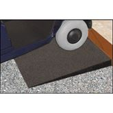 EZ-RBR-THRSH EZ-Access Transitions Rubber Modular Threshold Ramp