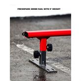 Freshpark grind rail with 9 inch height