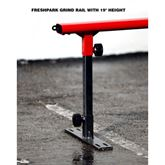 Freshpark grind rail with 19 inch height