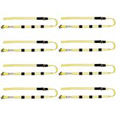 HD-3053-144-8 8-Pack of BA Products 2 x 12 Heavy Duty Trailer Strap with Swivel J Hooks