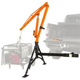 HMC-1000 Apex Hydraulic Receiver Hitch Crane - 1000 lb Capacity