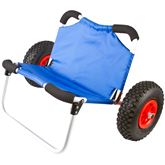 KC-DOLLY-SEAT Elevate Outdoor Kayak and Canoe Cart with Seat