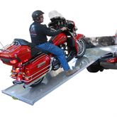 LOADALL LoadAll Aluminum Self-Storing Attached ATV Ramp System - 8 Long