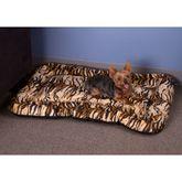 LPB-59 Lucky Dog Tiger Print Pet Bed
