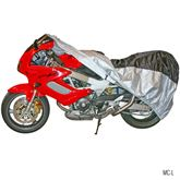 MC-Cover Black Widow Water-Resistant Motorcycle Cover