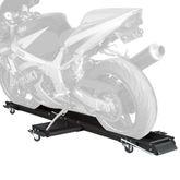 MC-DOLLY Black Widow Steel Sport Bike  Motorcycle Dolly - 1250 lbs Capacity