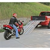 MC-RMP-NF Black Widow Aluminum Non-Folding Arched 3-Piece Motorcycle Ramp 2