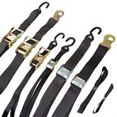 MC-STRP-KIT-12 Motorcycle Tie-Down Strap Kits - 8-pk or 12-pk
