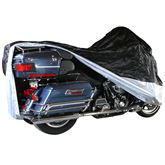 MC-XL Extra Large Water-Resistant Cover for Touring  Full Dress Cruiser Motorcycles with Fairings or Bags