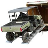 MF2-EZ-UTV Big Boy Extra-Wide Aluminum Folding Dual Runner UTV Ramps