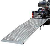 MF3-12047-EZ 10 Aluminum Folding Motorcycle Ramp  3 Piece  Big Boy EZ Rizer
